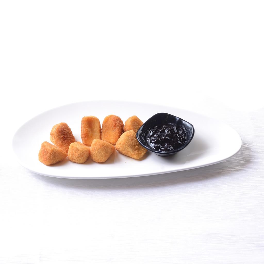 Camembert Frito con Arándanos