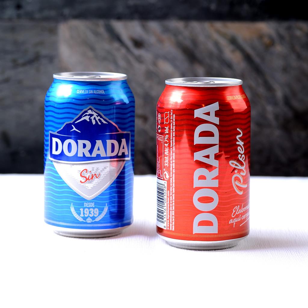 Dorada Sin Alcohol (lata)